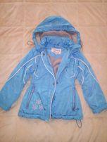 курточка для девочки осенняя на 6-7 лет