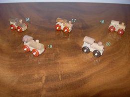 Киндер-сюрпризы из серии локомотивов, дерево, экологически чистые