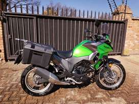Kawasaki Versys-X 300 with loads of extras