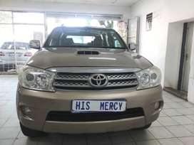 2008 TOYOTA FORTUNER 3.0 D4D 4X4 MANUAL