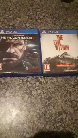 Ps 4 games all