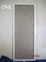 Маскитная сетка для пластиковых окон или балконов ( белая ) 1 шт