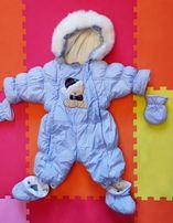 Детский зимний комбинезон-трансформер Garden Baby