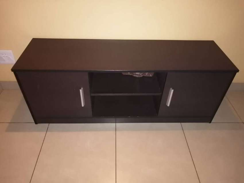 Wooden TV stand and Dining room table 0