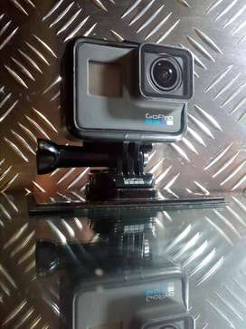 GoPro Hero 5 with accessories.