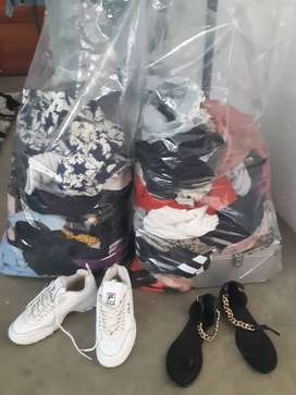 Second hand clothes and shoes for sale!!