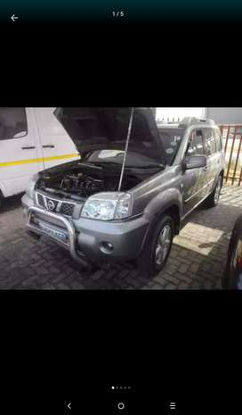 Stripping Nissan Xtrail 2,5D For Spares