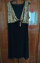 Платье с болеро нарядное большого размера р.56