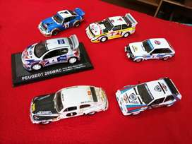 Collection of 22 WRC cars (edition 1)