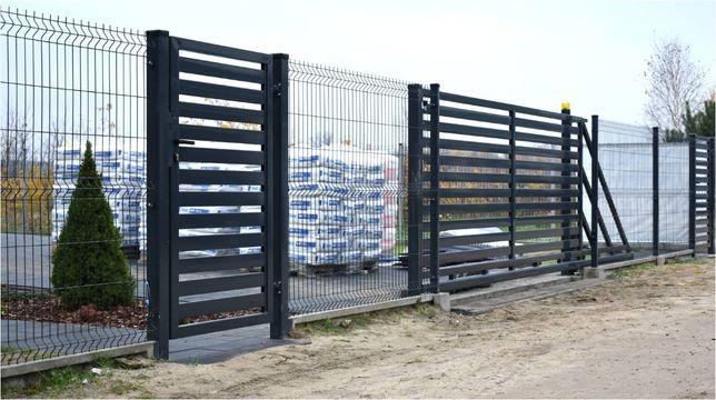 Ogrodzenia panelowe + podmurówka + montaż. 51 drutów pionowych. Błonie - image 4