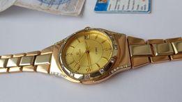 Золотые часы poljot с бриллиантами 82гр, на 50% дешевле