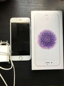 64gig silver iPhone 6