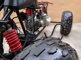 Quad bike stripping