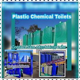 Chemical Plastic Chromodek Porta Mobile Vip Toilet Freezer Frame Tent