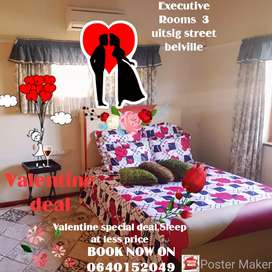 Executive guest house available now in belville r500