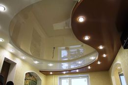 натяжные потолки ( цена от 400 руб.м2.)