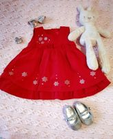 Красивое платье и туфельки