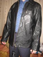нова чоловіча шкіряна куртка (новая мужская кожаная куртка)