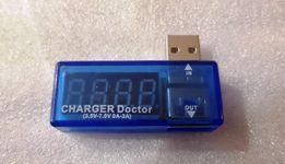 Тестер вихідної напруги та струму для USB