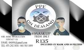 Face-masks thermoplastic