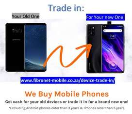 Trade in your old phone for a new one