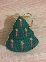 Новогодняя игрушка на ёлку handmade