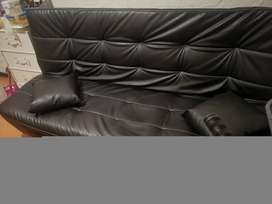 PU leather sleeper couch for sale