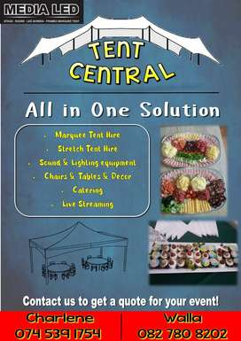 Tents Sound System & Catering