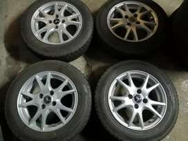 14 inch Rims and tyres