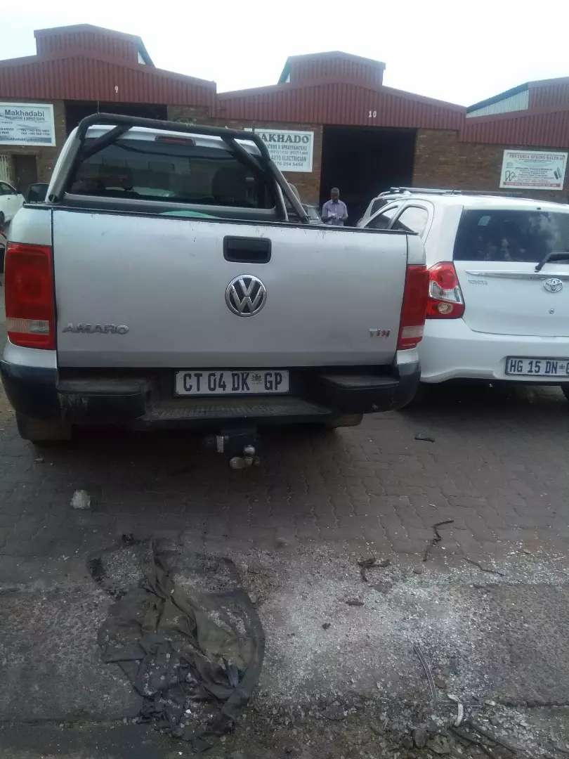 Is a nice moving bakkie used daily 0