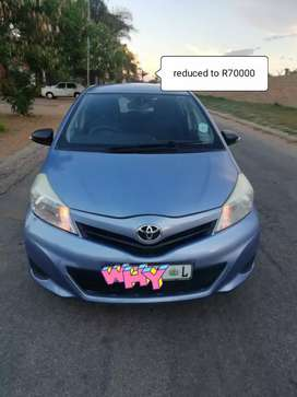 2012 yaris which is very light on fuel
