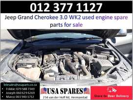 Jeep Grand Cherokee 3.0 WK2* 2011-19 used engine spare parts for sale
