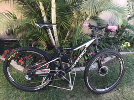 2017 Cannondale Mountain Bike, small frame