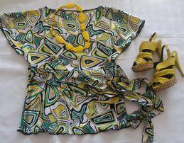 Świetna bluzka 40/42 Nietoperz Modne kolory