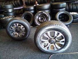 """18"""" wildtrack mag rim with brand new tyre on for spare R3350 each"""