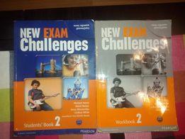 New Exam Challenges podręcznik i cw. do jęz.ang.gimn.