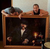 Портрет масло, холст, заказ. Tim Ripper Owens Mike Vescera