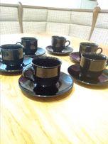 Кофейные чашки с блюдцами Arcoroc ( France)