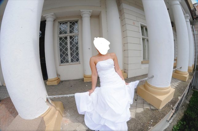 SUKNIA ślubna Wronki - image 2