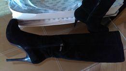 Ботфорты на каблуке высокие сапоги Guess оригинал р40