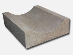 Koryto ściekowe płytkie 33x30x10 cm betonowe