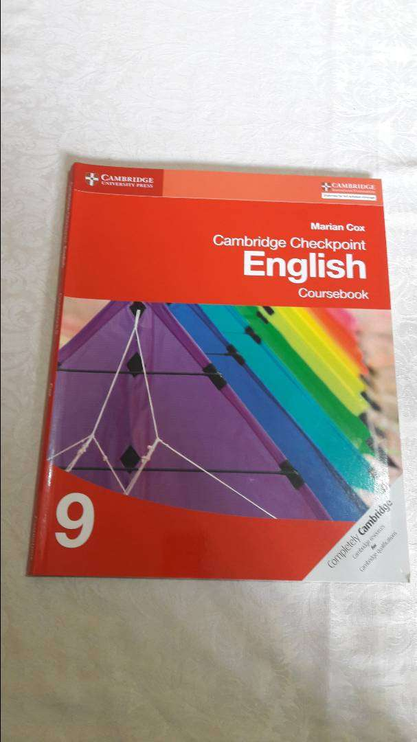 Cambridge Checkpoint English Course book 9 by Marian Cox 0
