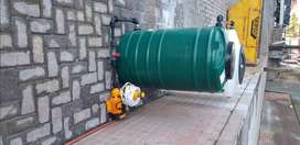 Irrigation system,jojo tanks,booster pumps and borehole pumps