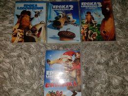 Epoka Lodowcowa - 4 FILMY DVD