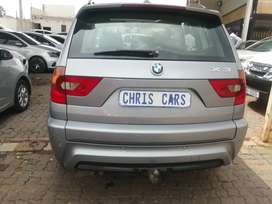 2008 BMW X3 3.0 D engine capacity 4x4 automatic.