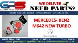 MERCEDES – BENZ M642 NEW REPLACEMENT TURBO