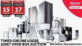 Timed Online Loose Asset Open Box Auction