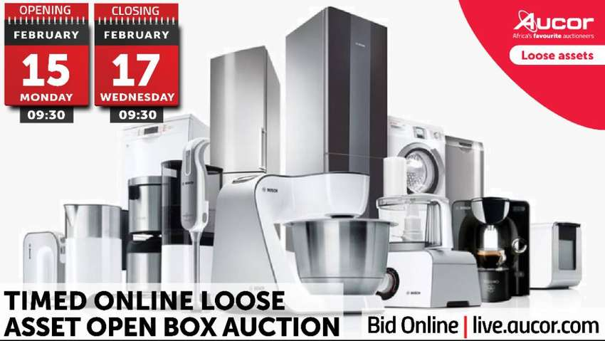 Timed Online Loose Asset Open Box Auction 0