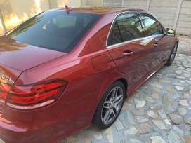 Mercedes Benz E250, AMG sport pack with Sunroof.