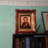 Икона бисер святой Евгений